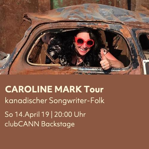 Tickets kaufen für Carolyn Mark LIVE | Support: oldseed + Tobias Dellit am 14.04.2019